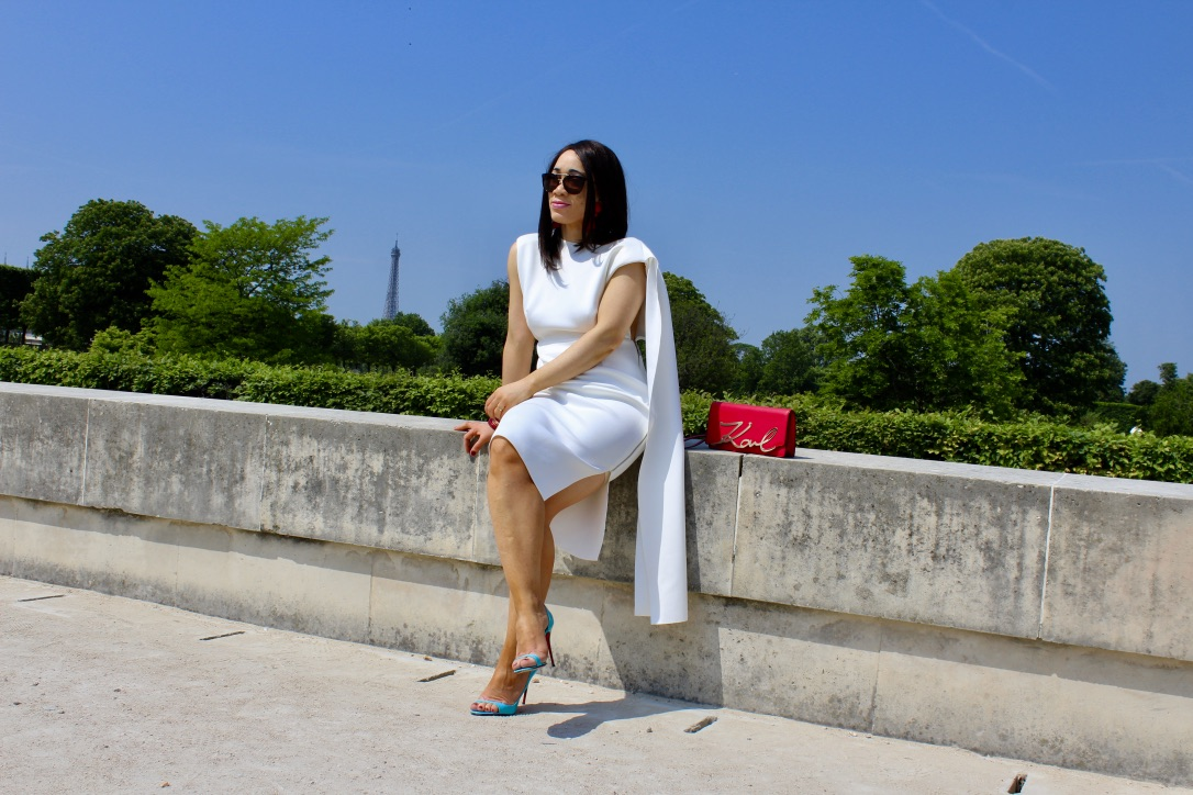 robe blanche collection asos red carpet