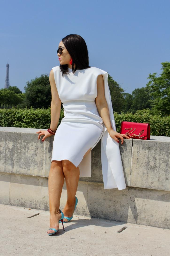 robe blanche collection asos