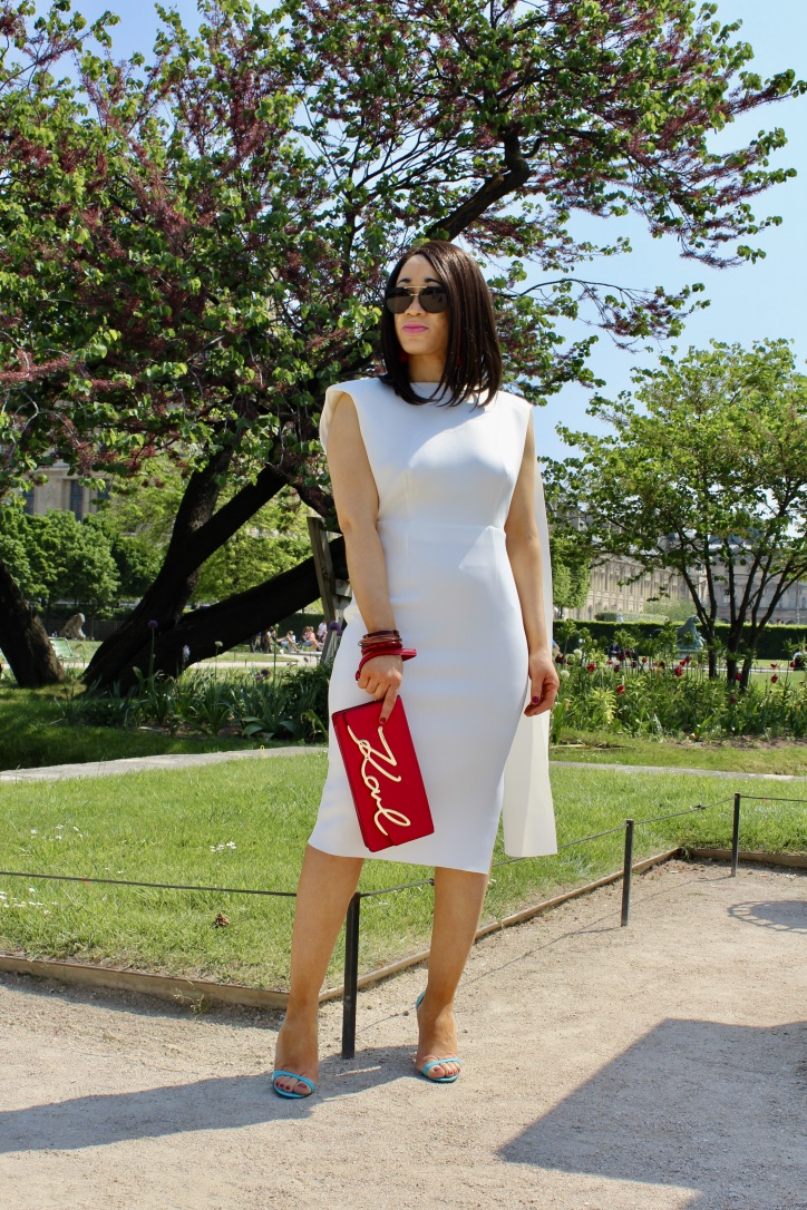 robe blanche red carpet