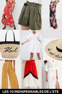 Les 10 pièces mode indispensables de l'été