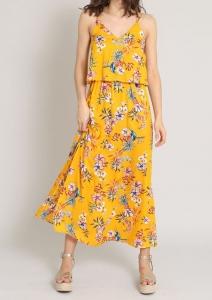 Robe longue à fleurs Pimkie