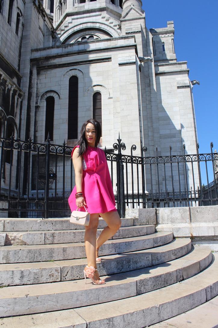 photo mode robe rose Asos
