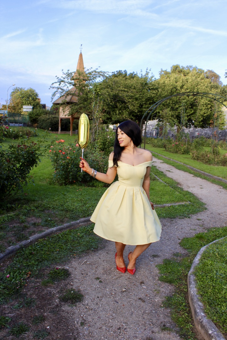 chichiclothing yellow dress