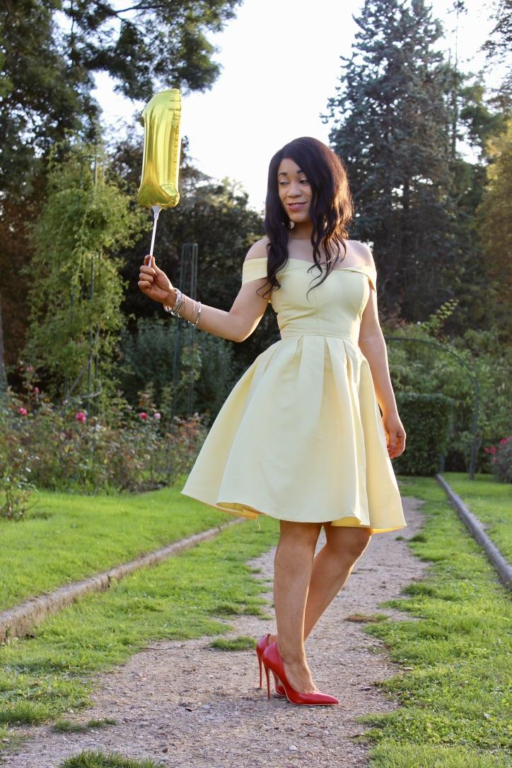 inspiration look robe jaune