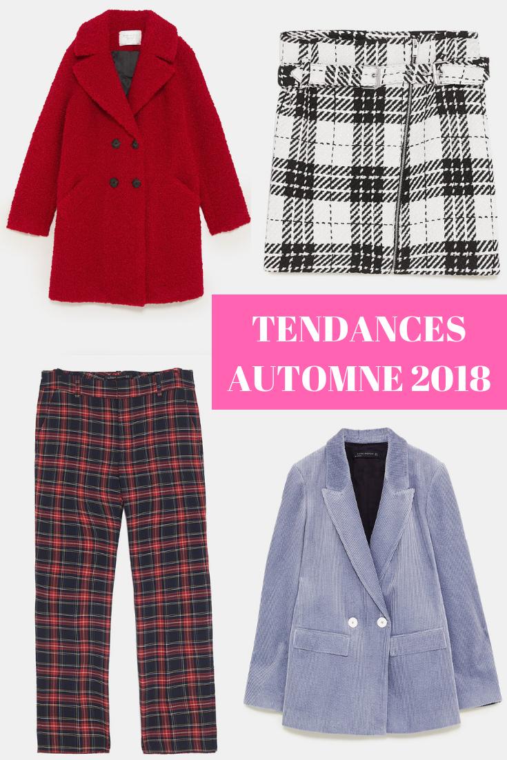 tendances automne 2018