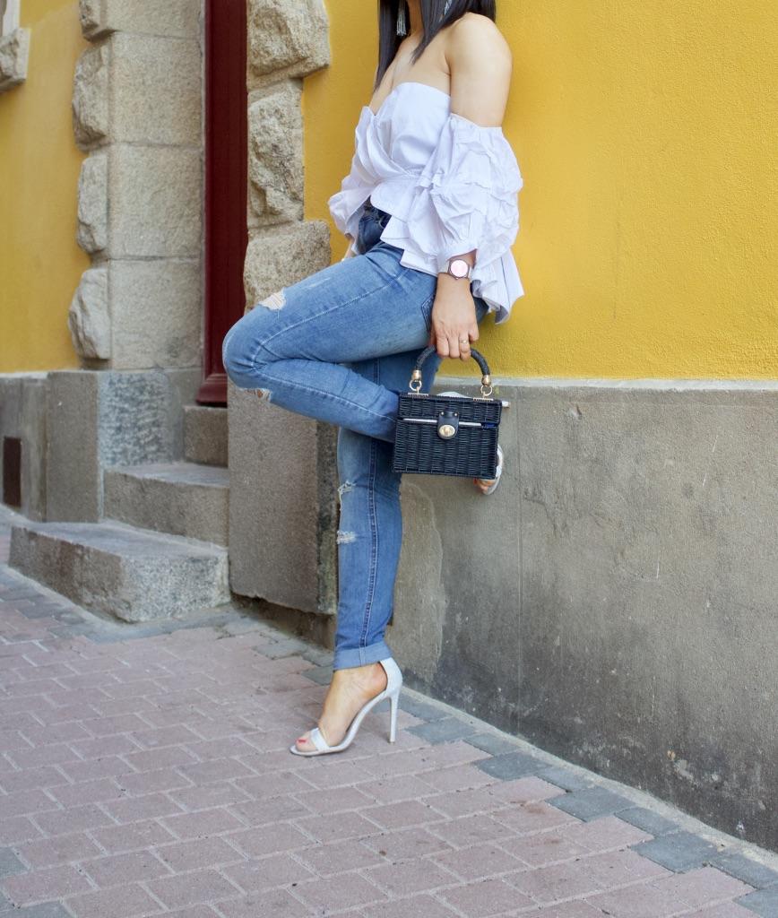 fashion inspiration johanna ortiz top dupe