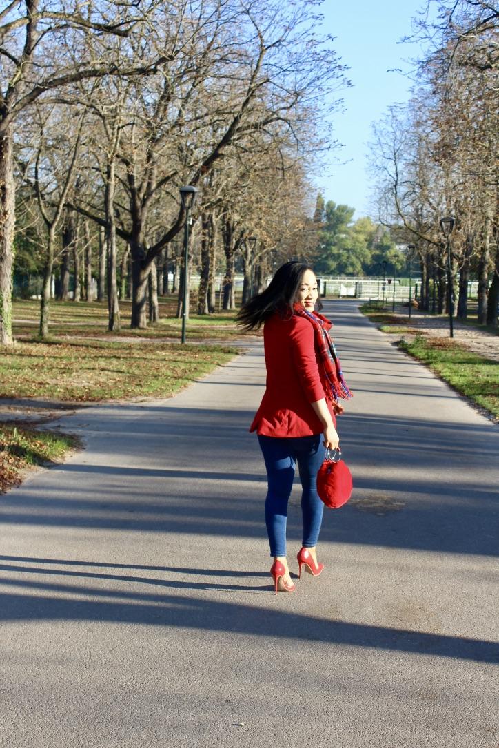inspo look automne tartan