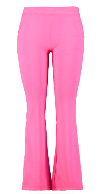 pantalon rose fluo boohoo