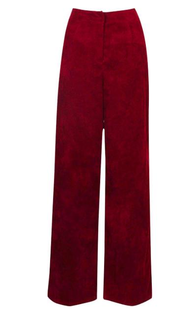 pantalon velours côtelé Boohoo
