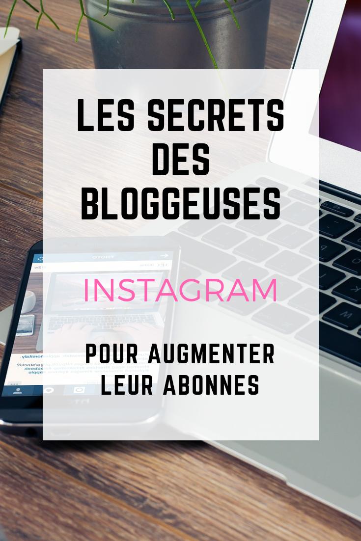 les secrets des bloggeuses pour instagram