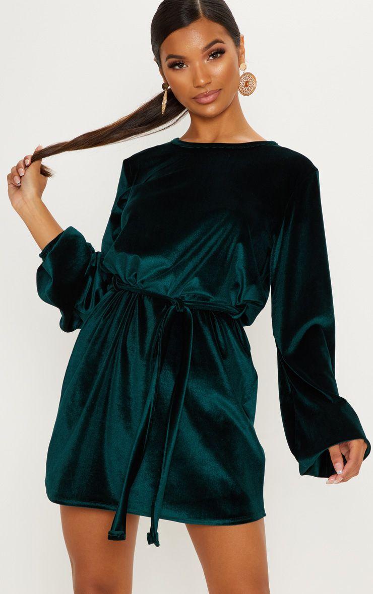 robe vert émeraude