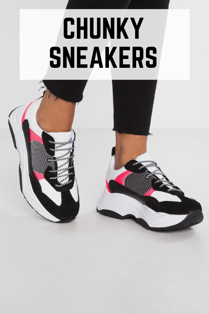 tendance chunky sneakers