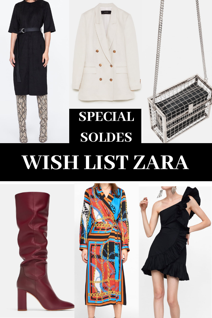 wish lists Zara soldes blog