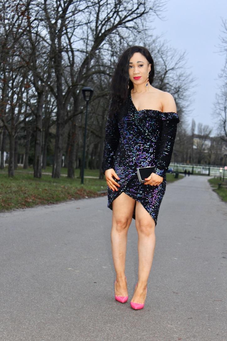 robe à sequins lavish alice