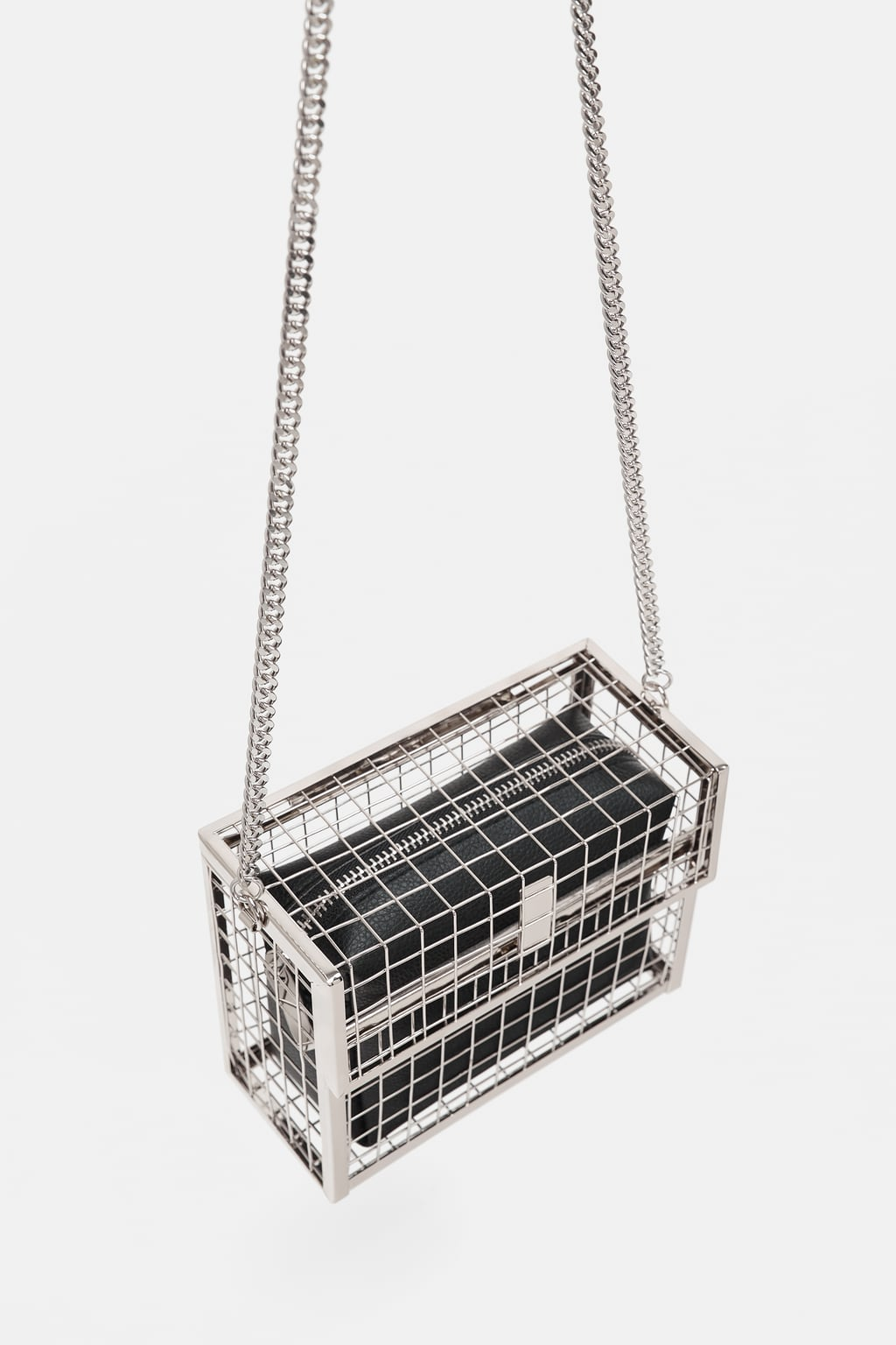 sac à main métallique