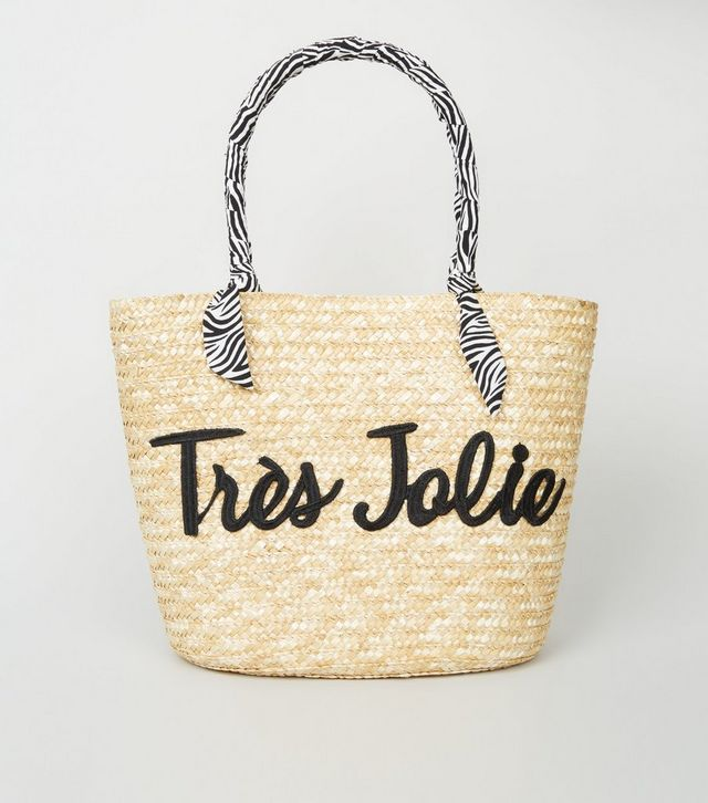 sac paille newlook