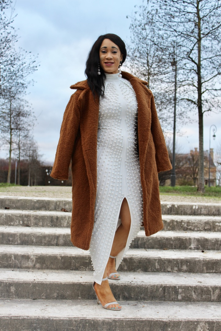 inspo look robe blanche fashion nova