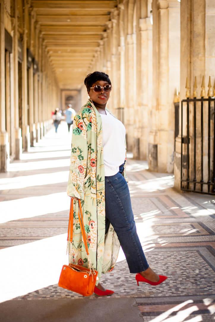 idée look kimono