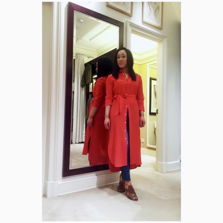 robe-rouge-en-soie-ralp-lauren