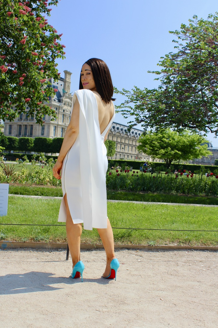 look robe blanche asos