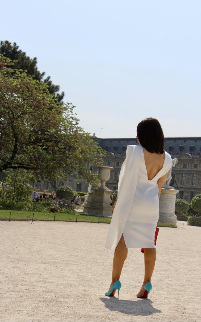 robe blanche collection asos red carte
