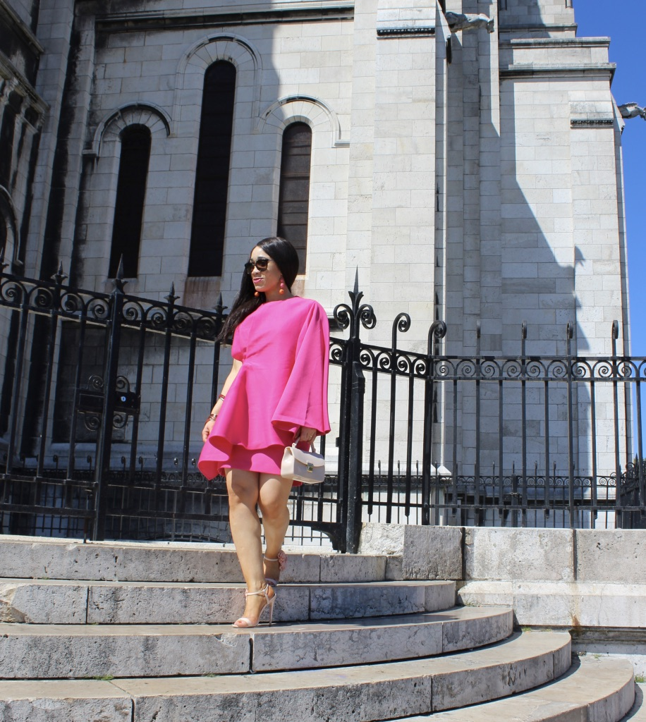 look chic en rose
