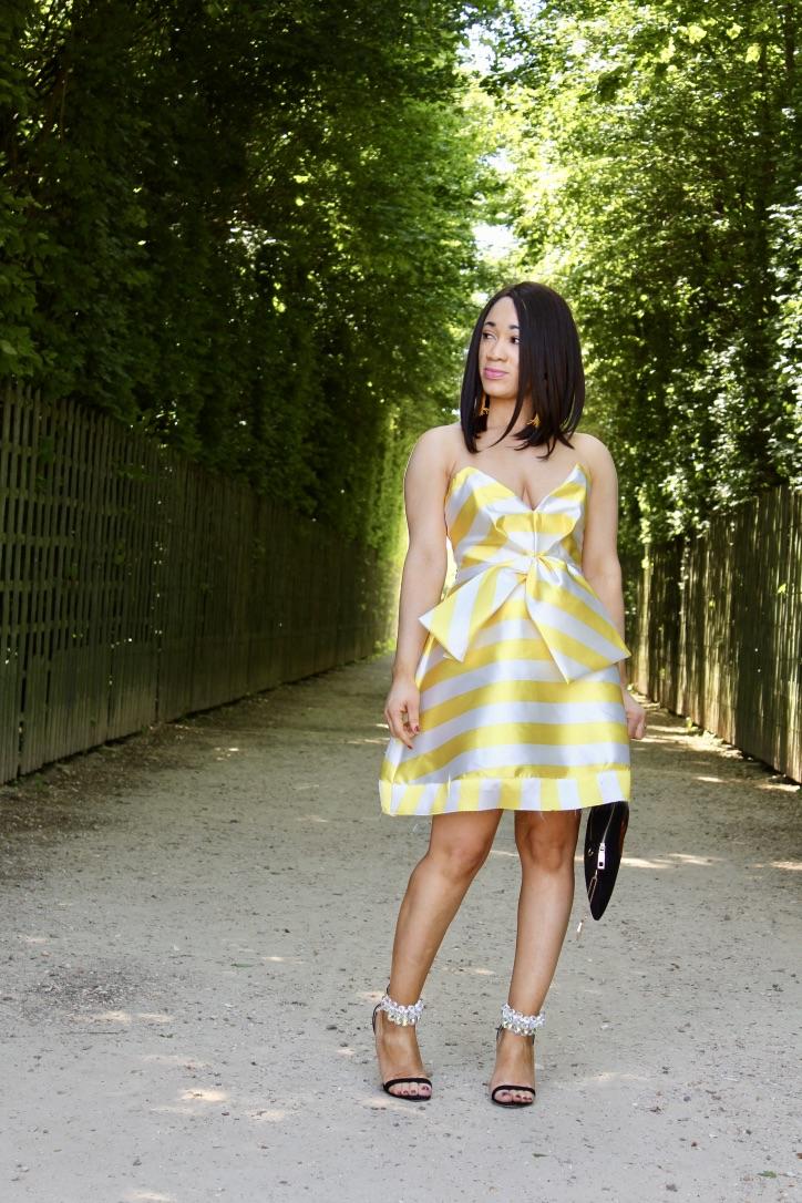 photos mode robe à rayures