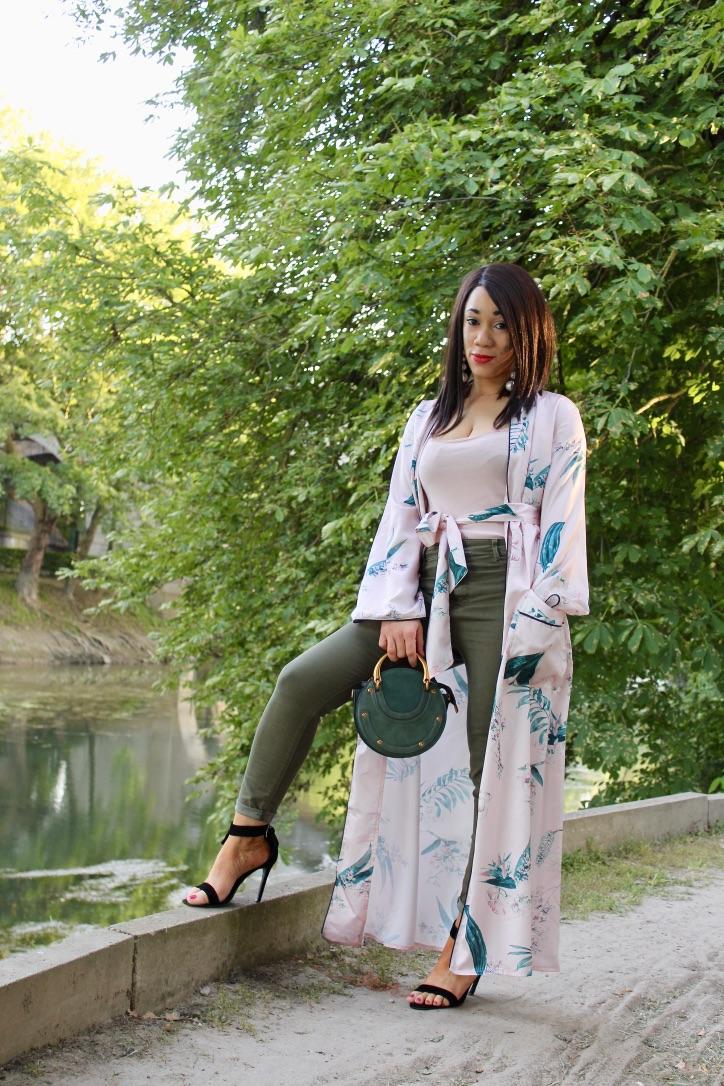 comment porter le kimono en été