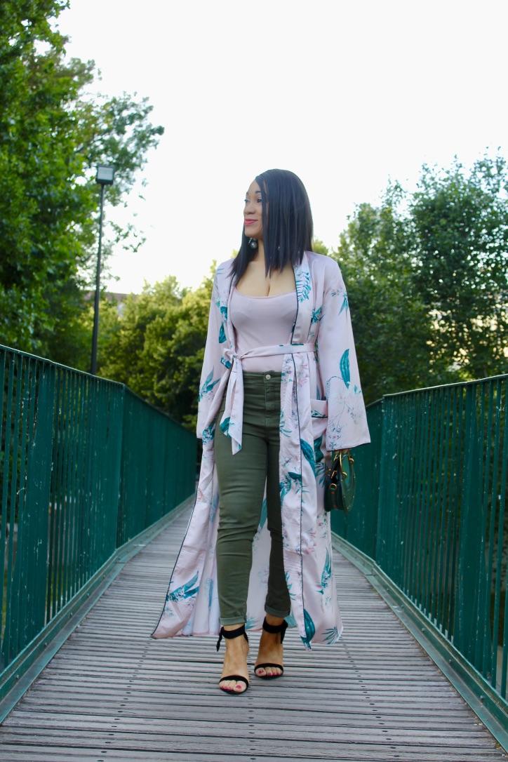 le kimono satiné