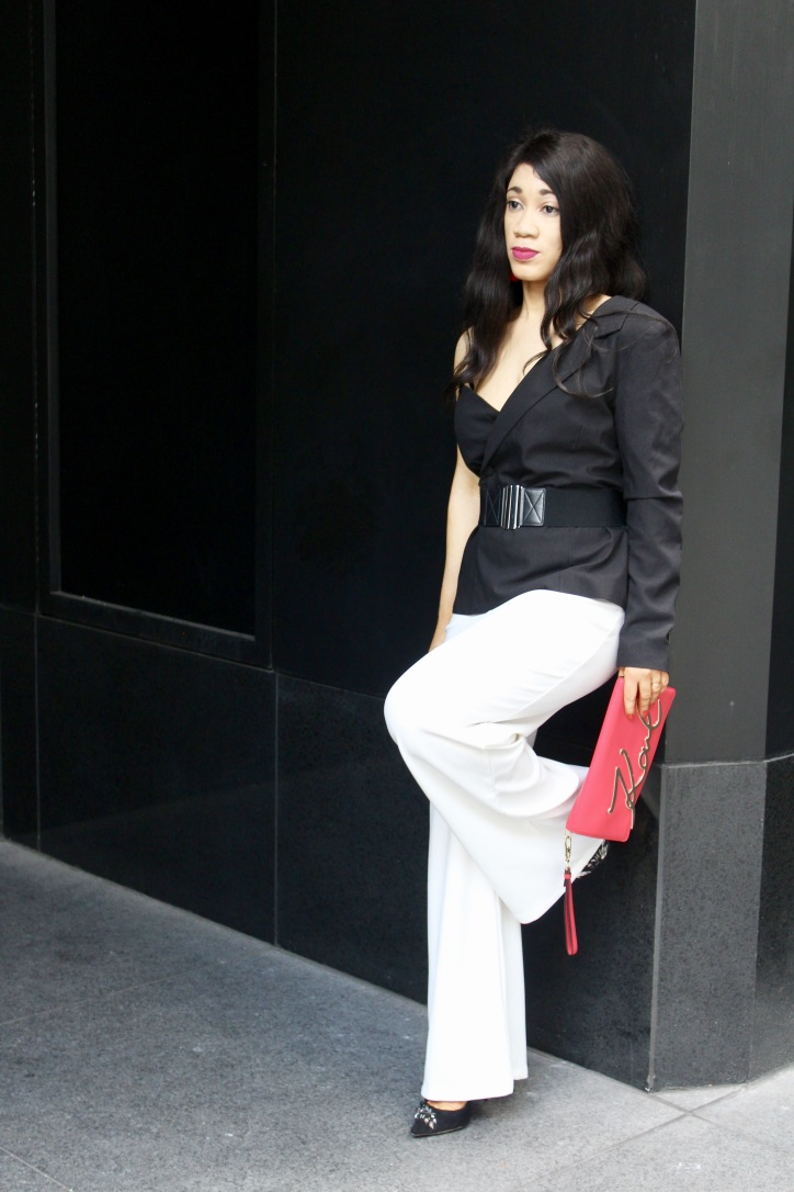 inspo look noir et blanc