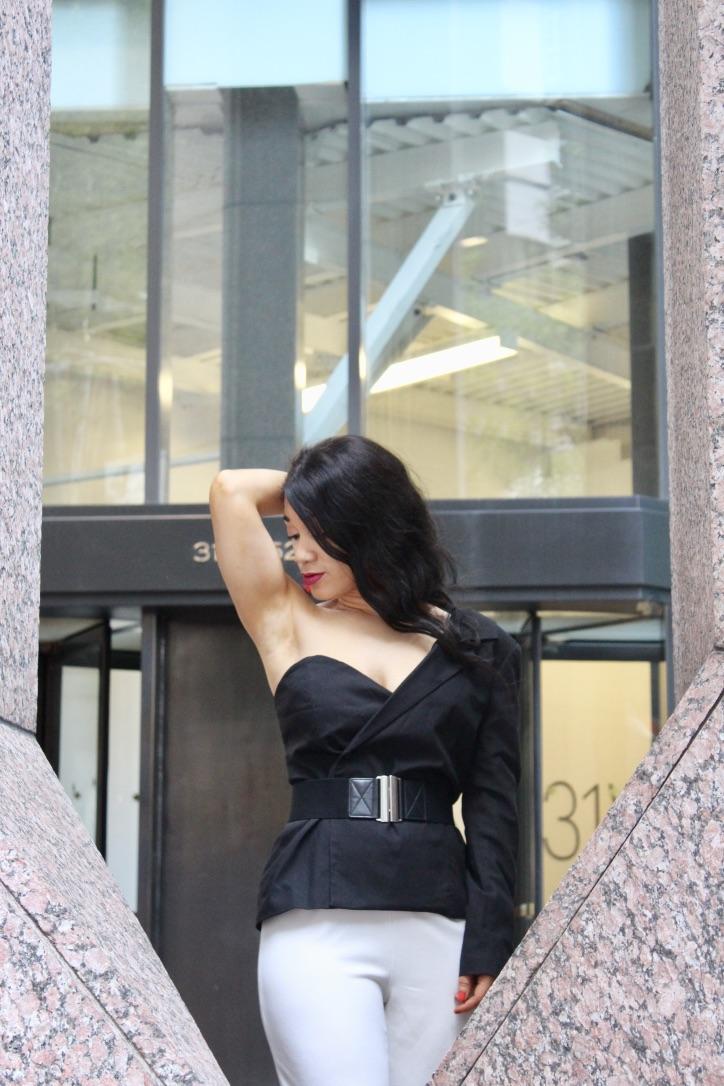 le look blazer noir annafashiontherapy