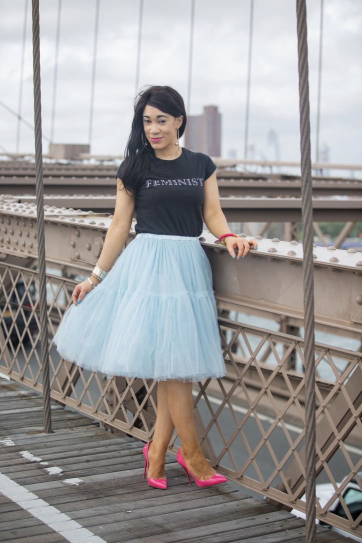shooting Brooklyn bridge