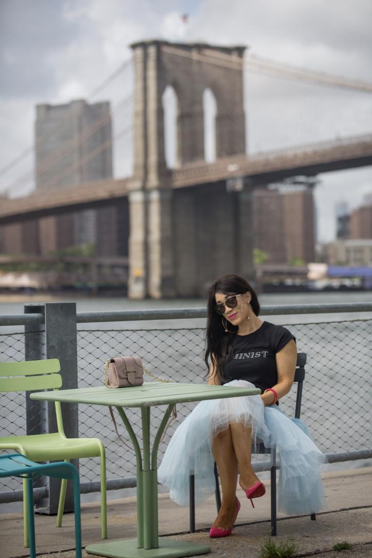 shooting new york jupe en tulle