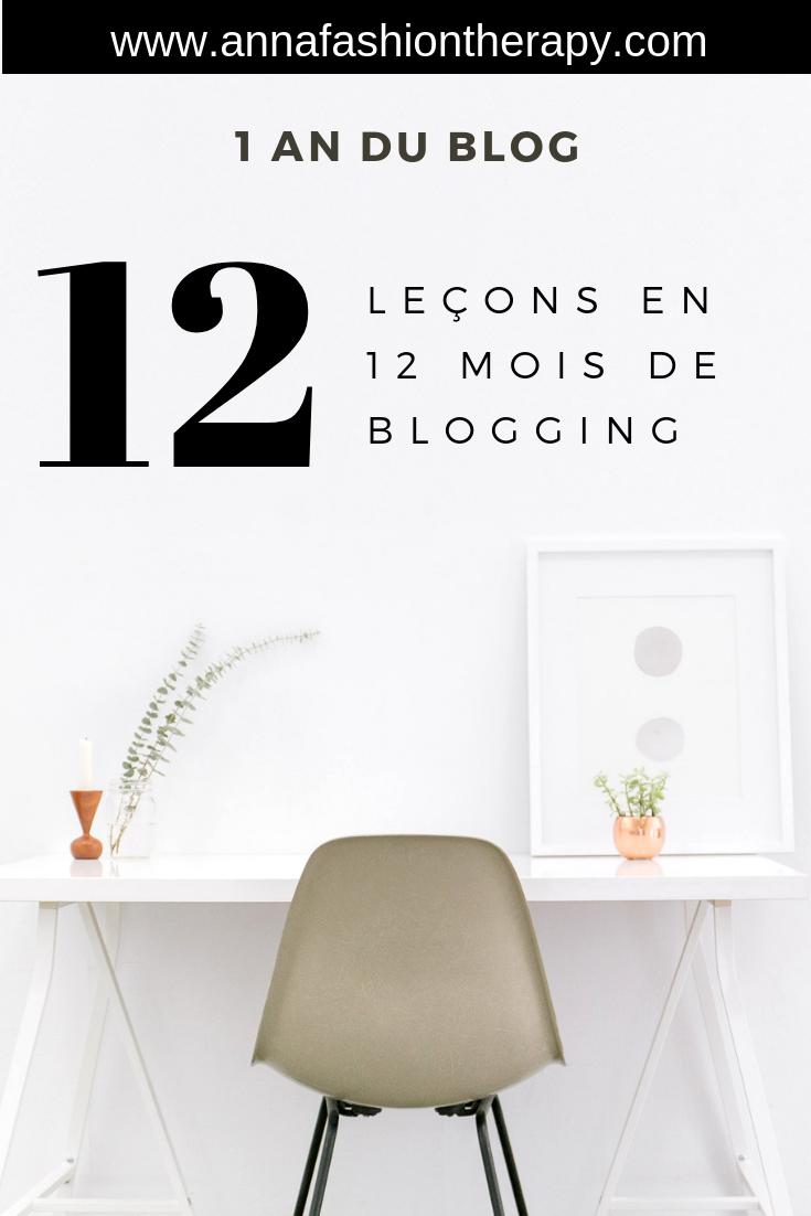 12 mois blogging un an du blog