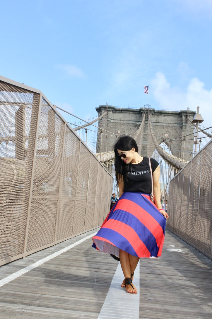 la jupe plissée Bershka