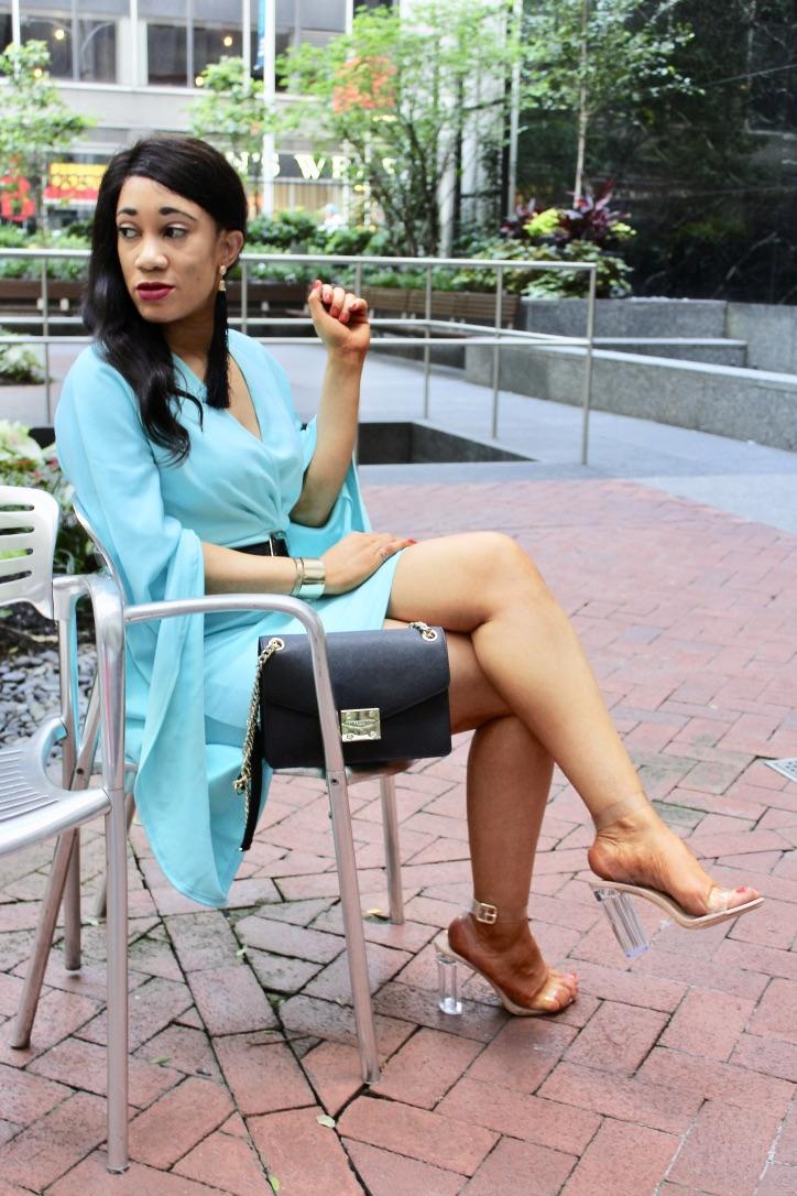 photo robe turquoise