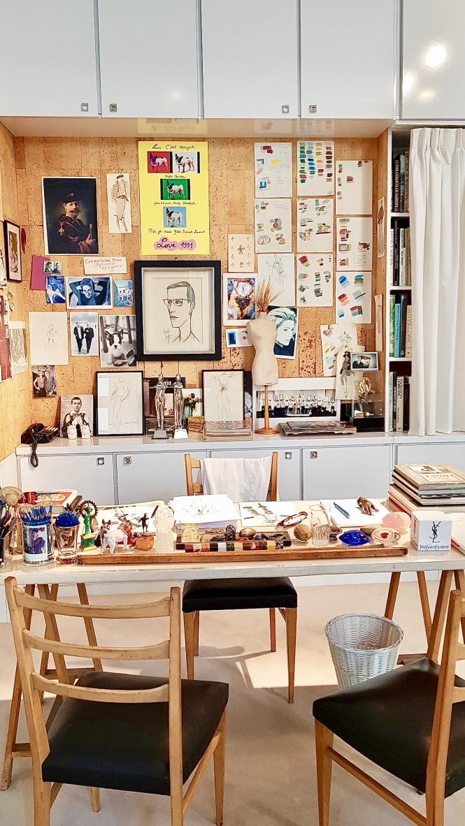 atelier création musée yves sant laurent