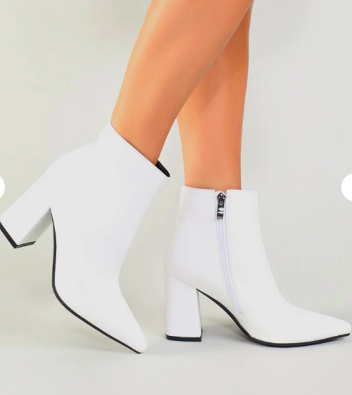 bottines blanches public desire