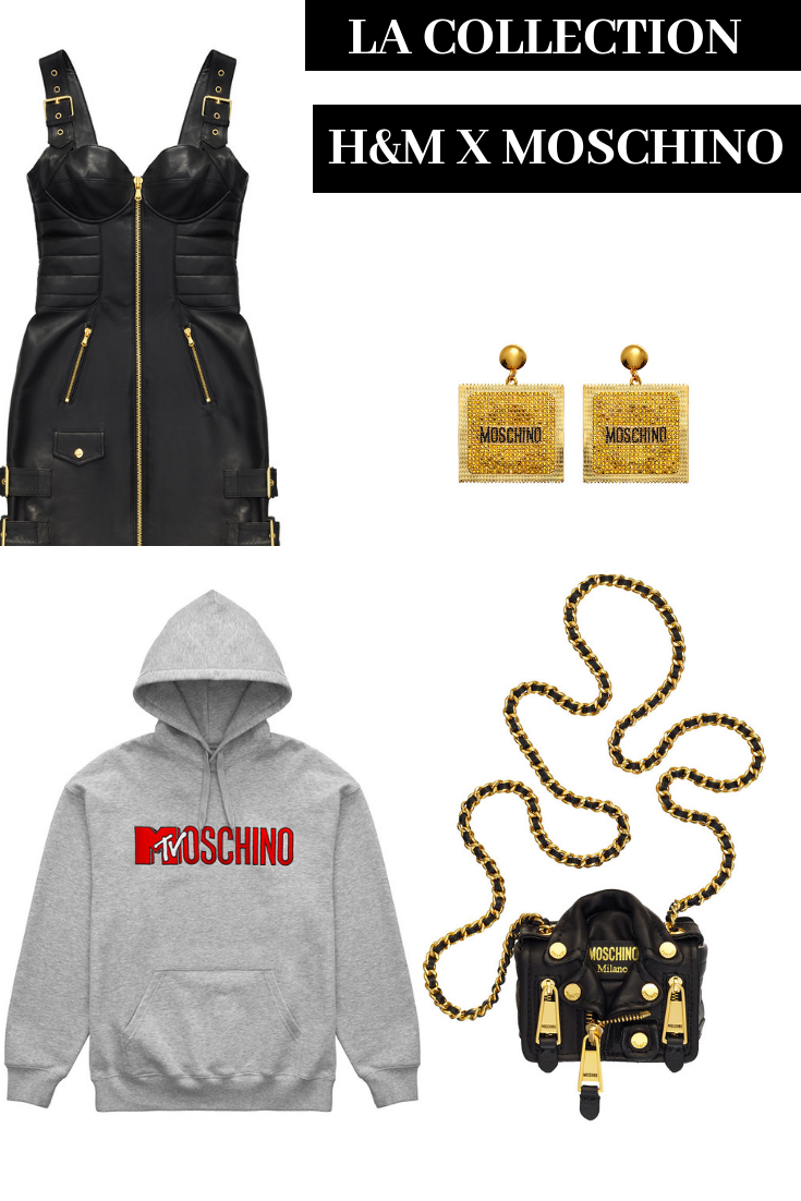 collection hm x Moschino