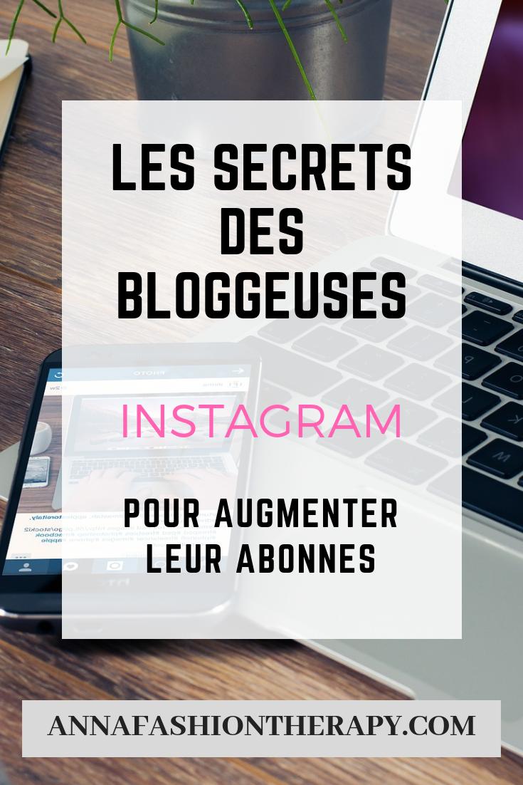les secrets des bloggeuses sur instagram