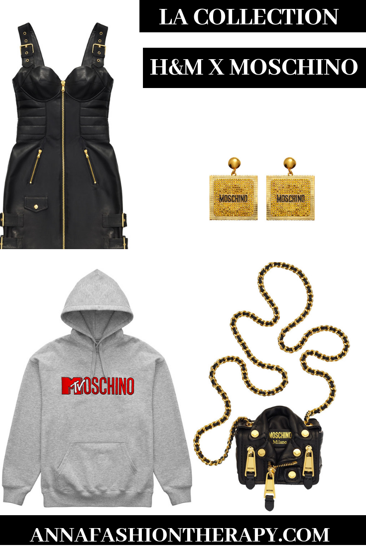 lacollection hm x Moschino