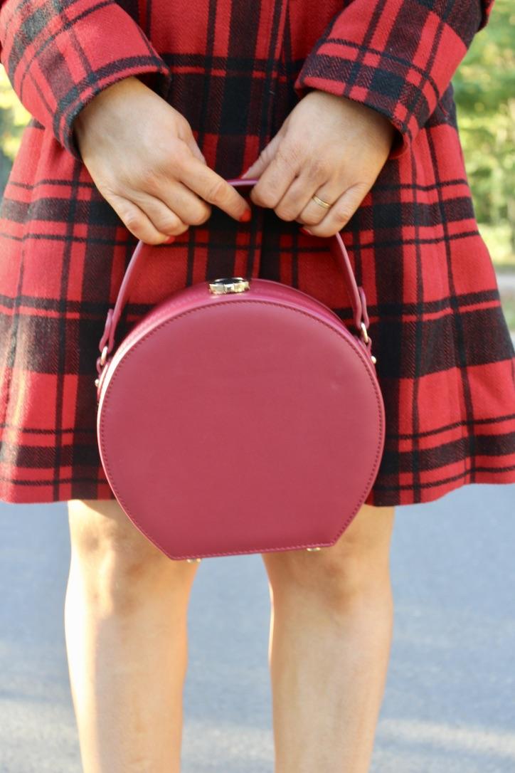sac à main rouge zara