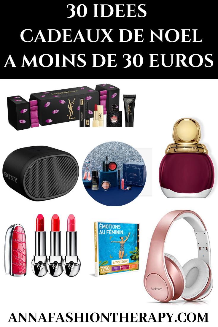 30 IDEES DE CADEAUX DE NOEL A - DE 30 EUROS BLOG