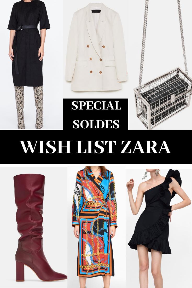 wish lists Zara soldes blog