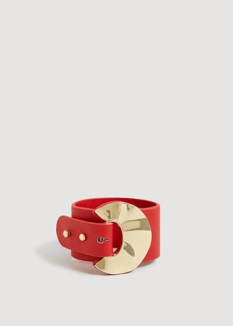 bracelet pièce métallique mango