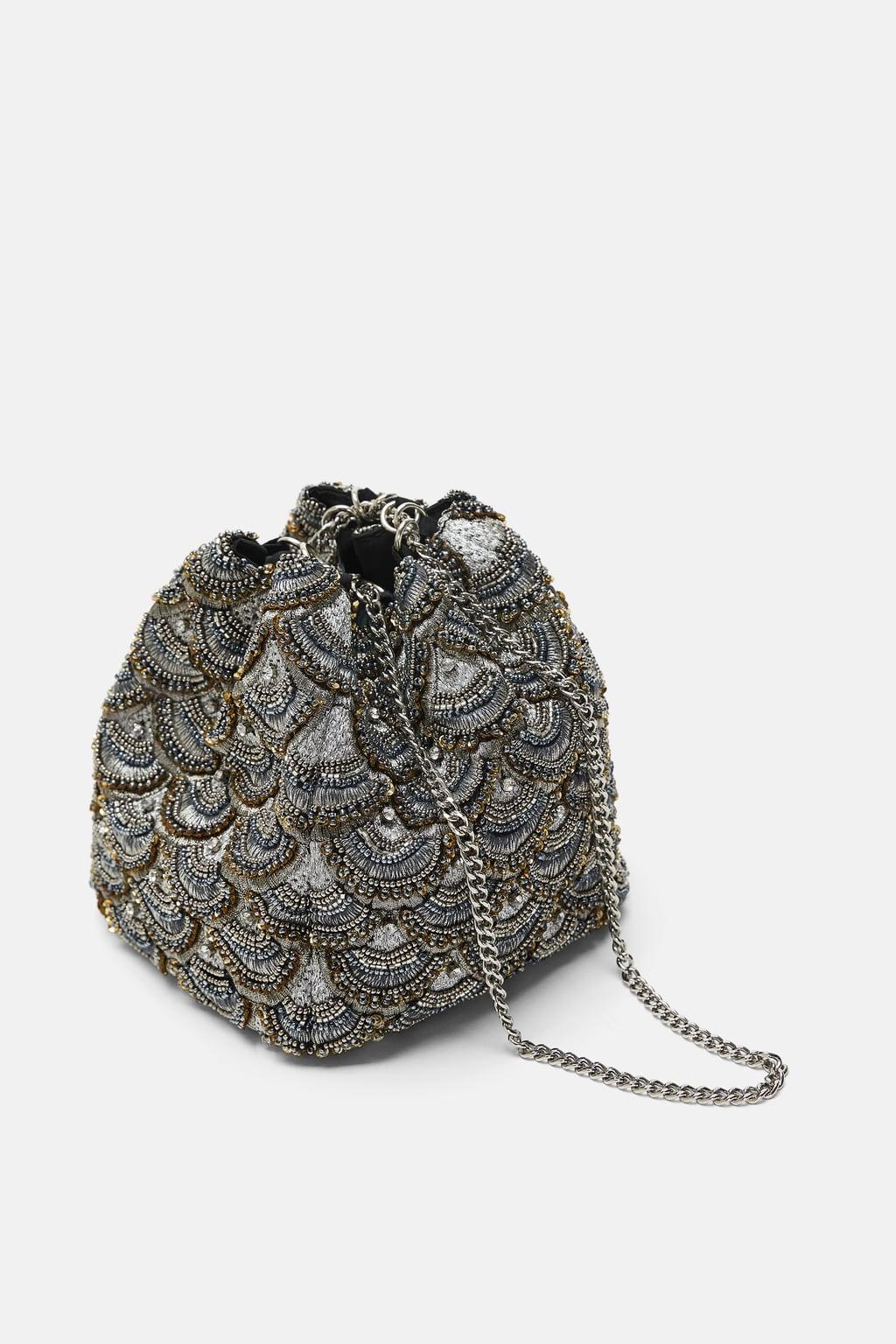 mini sac verroteries