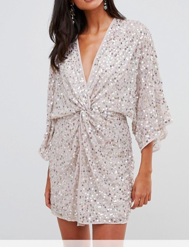 robe sequins asos