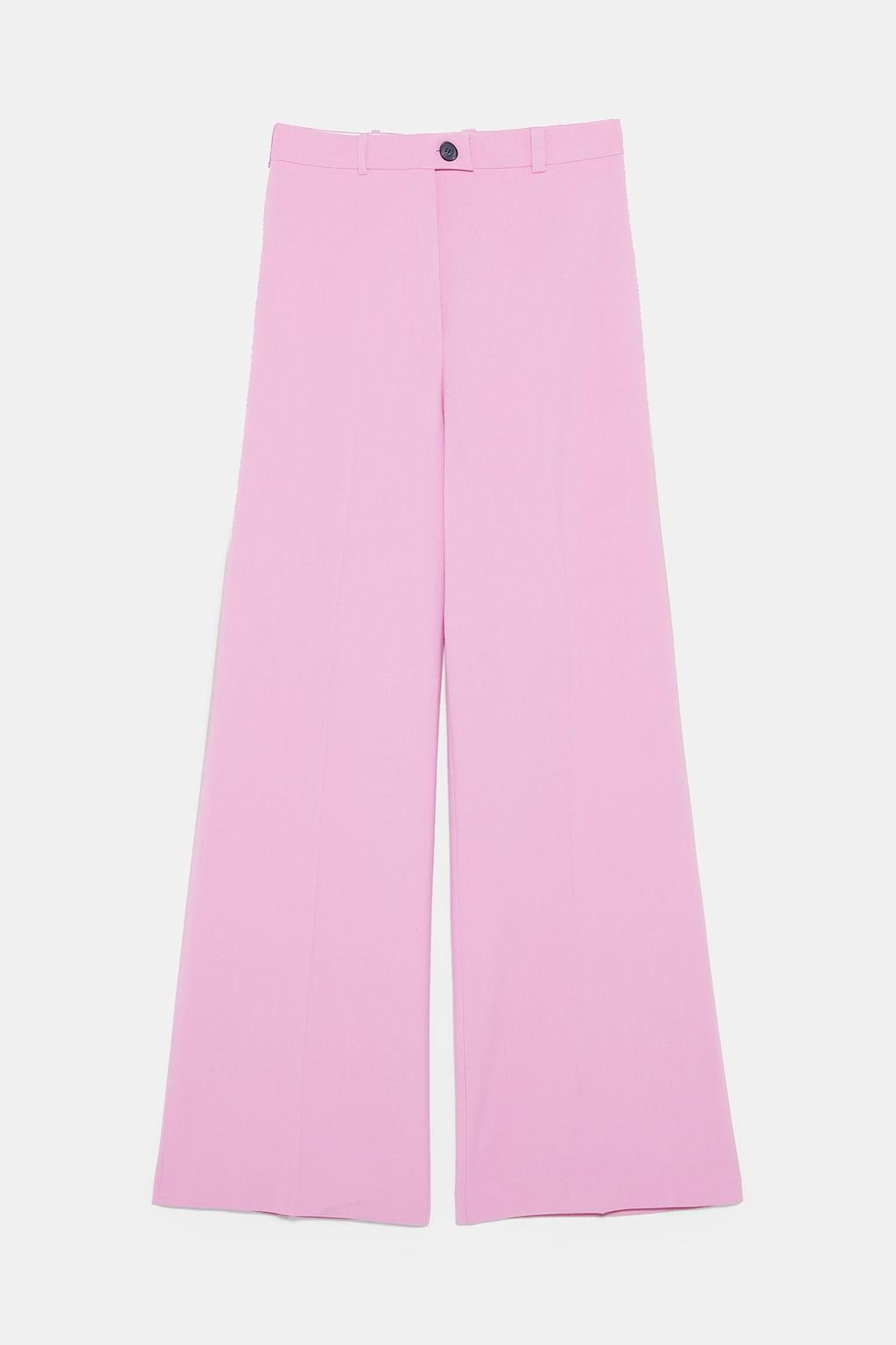 pantalon rose zara