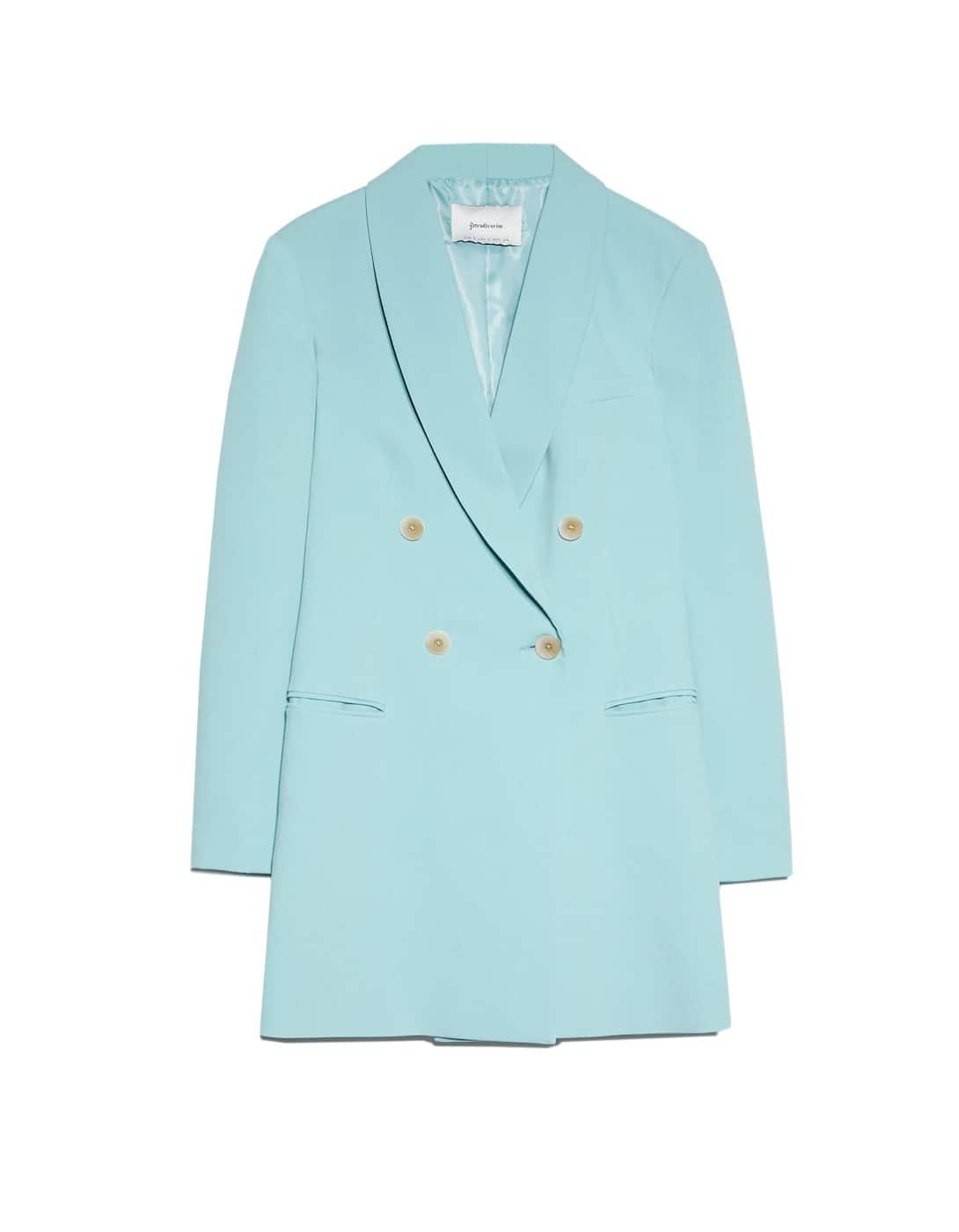 robe blazer pastel stradivarius