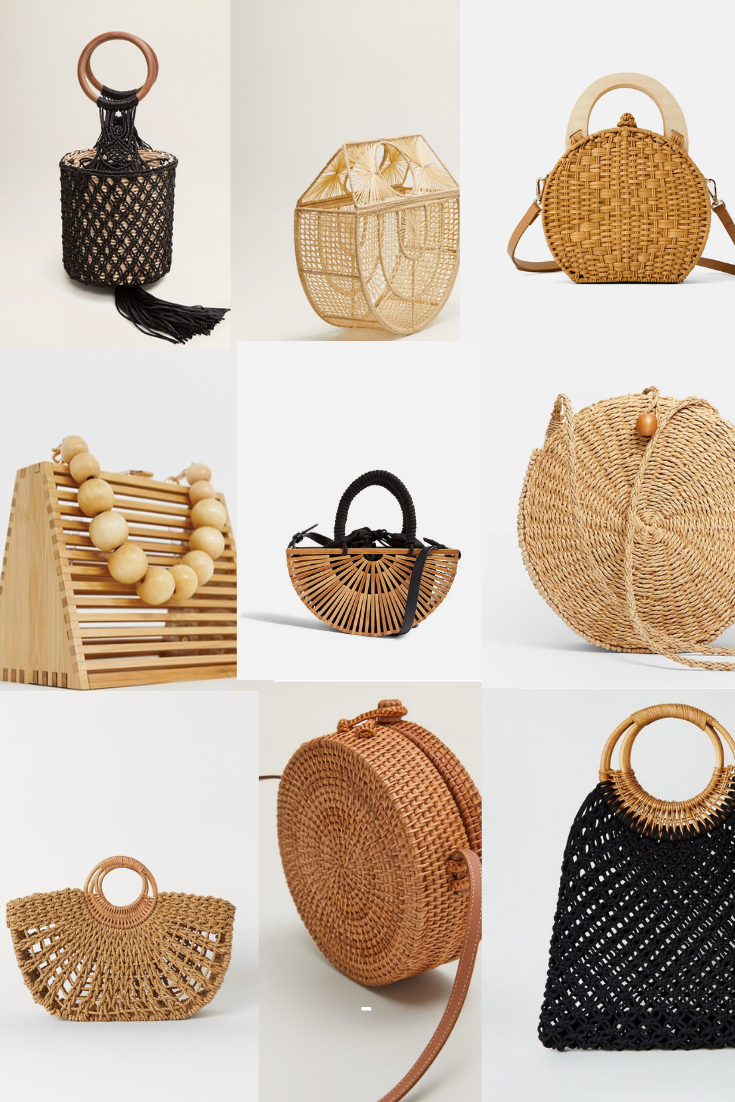 special sales good texture great deals 2017 LE SAC NATUREL, IT BAG DU PRINTEMPS ÉTÉ 2019